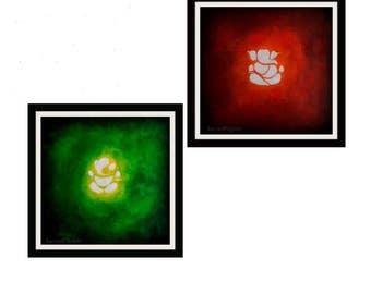 Ganesh Wall Art ganesh art | etsy