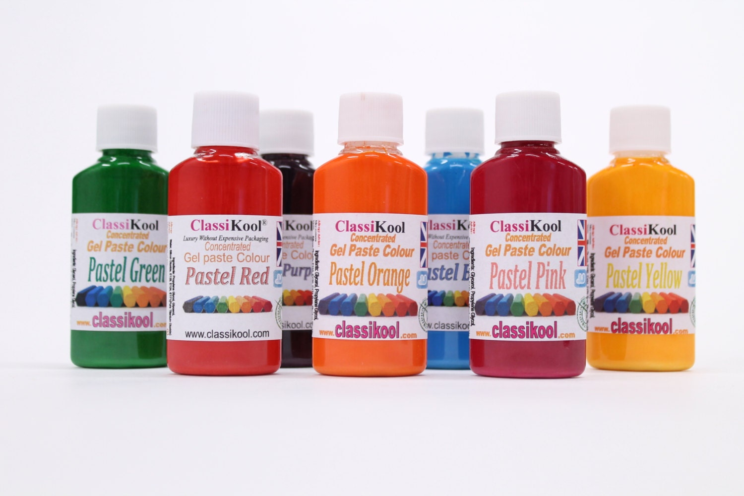 sold by classikool - Pastel Food Coloring