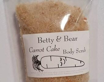 Sugar Scrub CARROT CAKE 200g