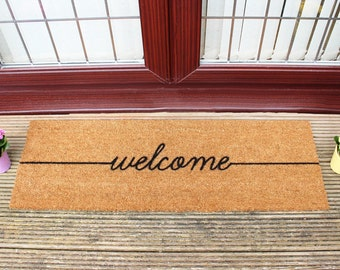 Welcome patio doormat - 120x40cm - Patio Double Door mat
