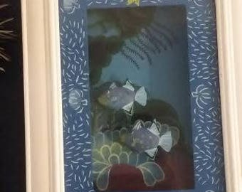 Under the sea shadow box frame- Bed Bath and Beyond