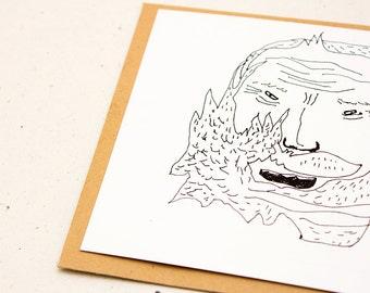 Christmas card, Santa Claus, Claus, Nikolaus, Shurik