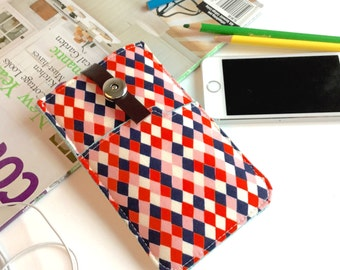 Checkerboard iPhone 6 Sleeve