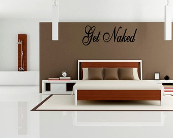 Get Naked Wall Decal Bathroom Decal Bathtub Decals Vinyl Decal Shower Decals  Bathroom Home Decor Master Part 87