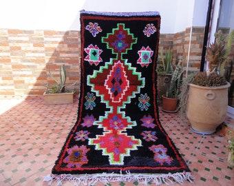 boucherouite rug vintage rug