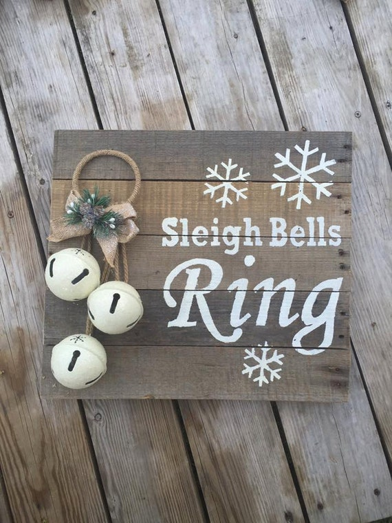 Items Similar To Snow Sleigh Bells Ring On Etsy