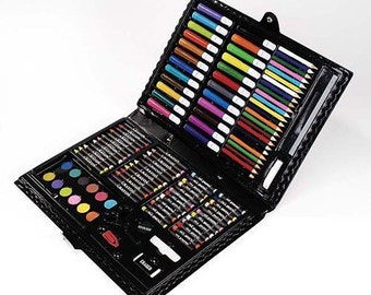 Lot of 3 Sets Darice Arty Facts Portable Art Studio, 120-Piece Deluxe Art Sets