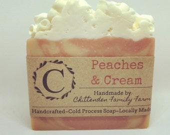 Peaches and Cream Soap
