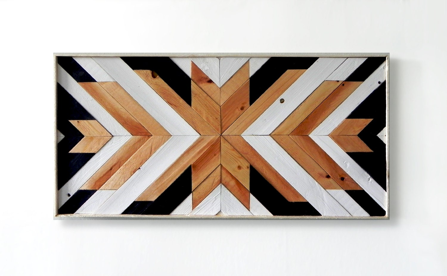 Wood Wall Art ~ Reclaimed Wood Wall Art ~ Wall Art ~ Wooden Wall Art ~  Geometric Wood Wall Art ~ Wooden Artwork ~ Wood Wall Decor