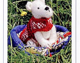Millie the Knitted Dog and Accessories Knitting  Pattern , Toy knitting pattern , dog knitting pattern, stuffed toy pattern KP 15