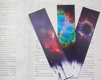 Three Galaxy Bookmarks