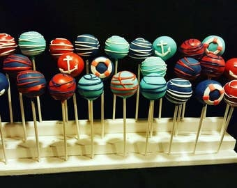 Nautical themed cake pops (13)