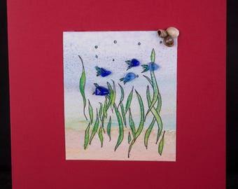 Sea Glass Card