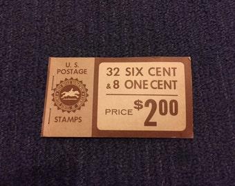 Vintage U.S. Postage Stamps