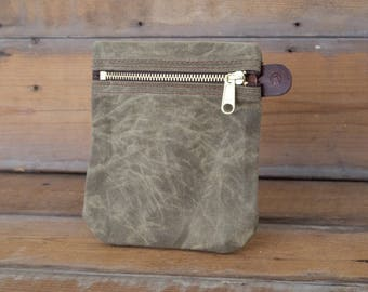 Waxed Canvas Organizer