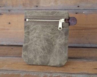 SALE! Waxed Canvas Organizer