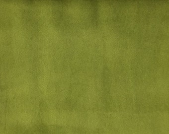 Velvet Upholstery Fabric - Liberty - Wasabi - Ultra Plush Microvelvet Upholstery Velvet Fabric by the Yard - Available in 38 Colors