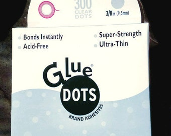 Glue Dots memory book 3/8 inch ultra thin NEW