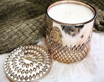 Rose Gold Candle - Stud