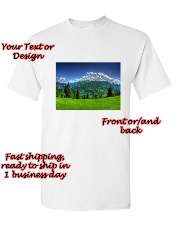 Items similar to custom made personalized t shirt add for T shirts with your own logo