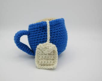 Hot drink Cup, coffee, hot chocolate, tea, food to crochet, Dad, MOM, small kitchen, grocery store