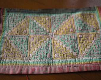 Vintage Hmong woven patch