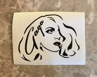 Lady Gaga Decal