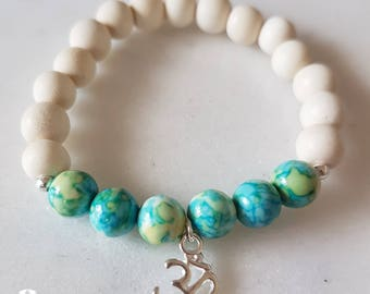 Beach Jewelry, Bracelet and Matching Chooker