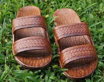 RESTOCK!!! Jandals / brown sandal / 100% vegan and manmade