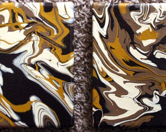 Brown Acrylic Pour - Abstract Painting