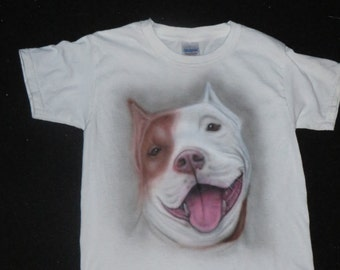 Custom Pet airbrushed T Shirts