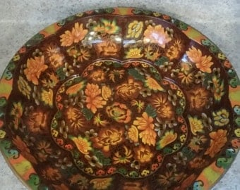 Vintage 1971 Daher Decorated Ware