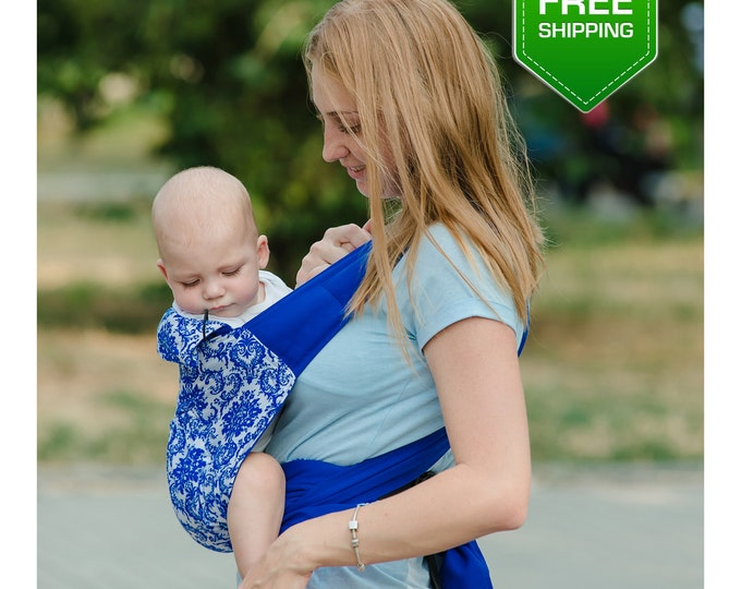 Mei Tai Baby Carrier, Baby Sling, Baby Sling Carrier, Baby Wrap Sling, Newborn Gift, Baby Gift