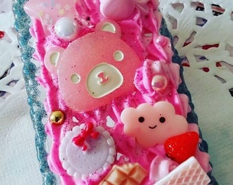 Kawaii Decoden Iphone 5 Case Cute Bear