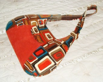 Shoulder bag, upholstery, ethnic, boho, unique and exclusive fabric