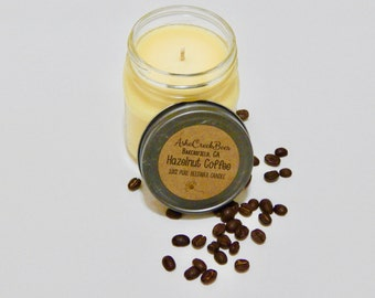 8oz Scented 100% Pure Filtered Beeswax Candle