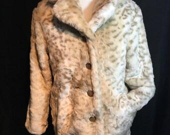60's Faux Fur Jacket