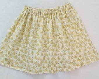 Skirt -  Christmas - Baby - Girls - Cream - Cream skirt - Christmas outfit - Girls outfit - Baby Christmas