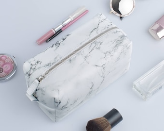 Makeup Bag Toiletry Small Cosmetic Bag accessoires Bag Zipper Pouch Cosmetic Make Up Bag Leather Toiletry Leather Travel Pouch Pencil Case