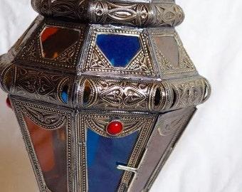 HANGING moroccan LANTERN METAL