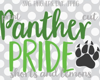 Panthers SVG, Panthers Clipart, Go Panthers, Panther vector, Panthers dxf, eps, cut file, png , Digital Download, Panthers clip art, clipart