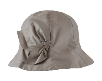 JORAN - Grège - Chapeau de pluie femme pliable et imperméable - La Tribu des Oiseaux