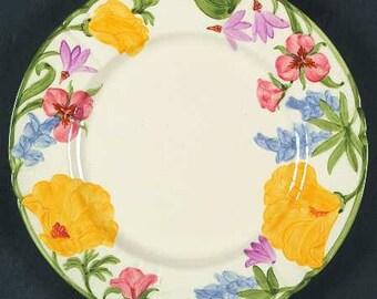 Franciscan Wildflower - Luncheon Plate
