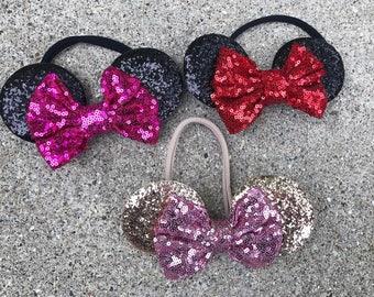 Minnie Mouse headband Minnie Mouse headband minnie headband Minnie Mouse ears minnie ears disney ears headband baby minnie headband