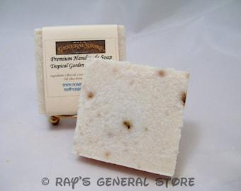 Tropical Garden Greek Yogurt Handmade Soap - Free Shipping
