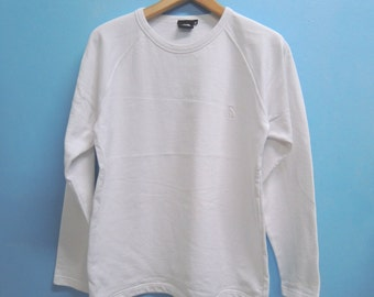 Vintage The North Face Minimalist Logo Sweatshirt Pull Over Out Door Gear Size M