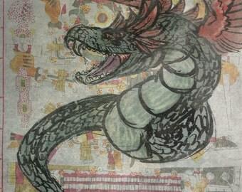 Quetzalcoatl Print