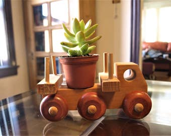 The Montgomery Schoolhouse Vermont Wooden Toy Truck