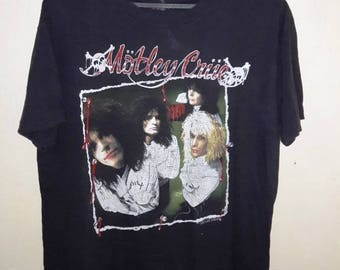 FREE SHIPPING Vintage 90's Motley Crue Dr Feel Good XL size