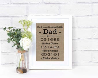 Fathers Day Gift from Kids- Gift for Fathers Day- Fathers Day Gift From Daughter- Gift For Dad-   Daddy Gifts- Fathers Day Presents-